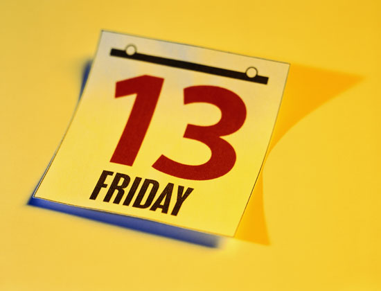 Friday the 13th: A Silly Superstition | WD Fyfe