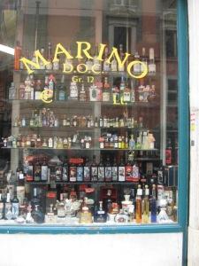 A Shop Window in Rome