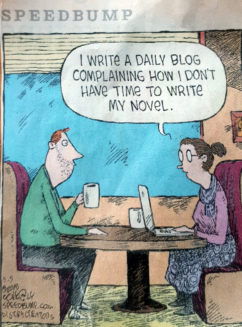 writing a blog